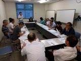 CTS清掃部門交流会を開催 –エルダー組合員も参加し活発な論議