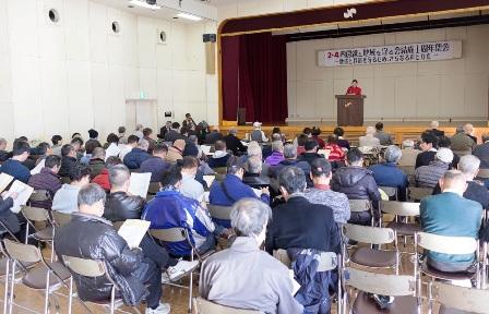 2・4内房線と地域を守る会 結成1周年集会  運動の着実な前進と拡大を確認