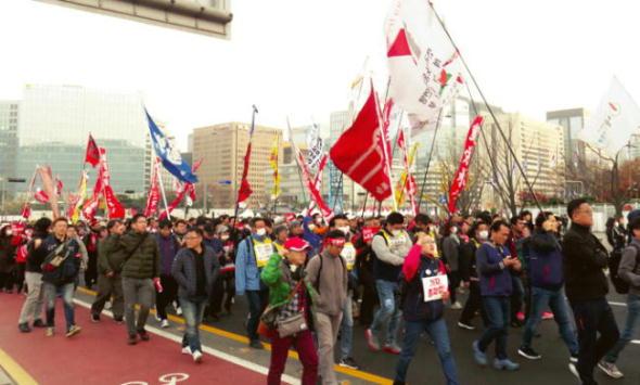 11/10~12民主労総ソウル地域本部とともに訪韓闘争闘う