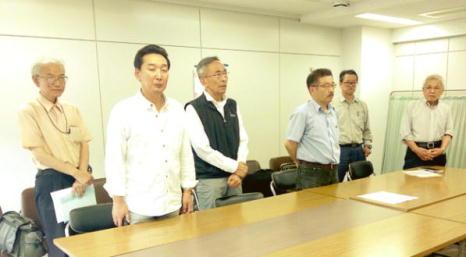6・5千葉県労委抗議・再審査申立行動       怒りも新たに国鉄1047名解雇撤回に向けて闘いぬこう!